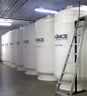 The Cryonics Institute's Cryostats